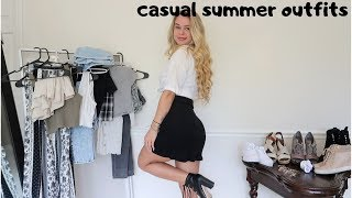 CASUAL SUMMER OUTFITS // Summer Fashion Lookbook 2019