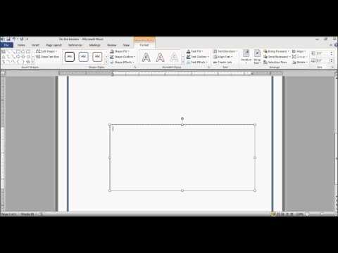 How to draw shapes in Microsoft Words [Mircrosoft Words]