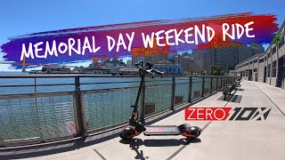 Zero 10x Electric Scooter Ride 2020 Memorial Day Weekend in SF | GoPro Hero 7 Raw FPV Video Footage