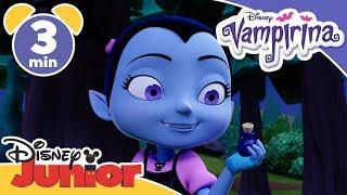 Vampirina | Vampirina Goes Creepy Camping - Magical Moment 💫| Disney Junior UK