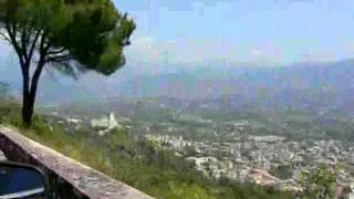 preview picture of video 'Widok ze wzgórza Monte Cassino'