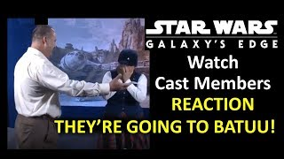 Disneyland - Watch Cast Members REACT - They're Going to BATUU!!