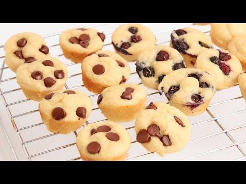 Pancake Mini Muffins Recipe – Laura Vitale – Laura in the Kitchen Episode 916
