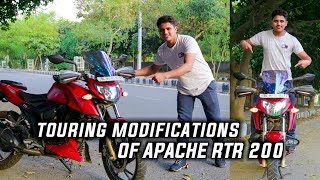TVS APACHE RTR 200 4V MODIFICATION || BEST APACHE