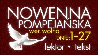 Nowenna Pompejańska - cz. BŁAGALNA | z lektorem