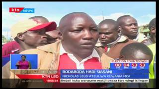 Mwendeshaji Bodaboda Nicholas Lelei ashinda tiketi cha mgombea wadi Kamagut-Uasin Gishu