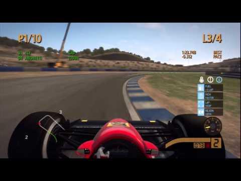 Codemasters F1 2013 - Jerez de la Frontera - смотреть онлайн