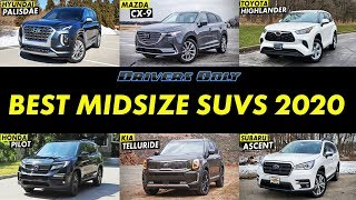Best Midsize SUVs For 2020 - Drivers Only