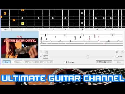 Justin Bieber Baby Ft Ludacris Beginner Guitar Cover Chords
