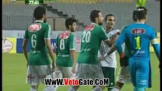 """""""عبد الله بيكا"""" يتعادل بالهدف الاول لـ المصرى فى الاتحاد"""