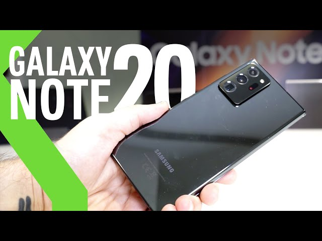 TODO sobre los NUEVOS Samsung Galaxy Note 20 y Note 20 Ultra