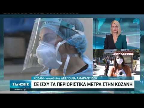 Αυξημένα τα κρούσματα κορονοϊού στην Κοζάνη | 10/10/20 | ΕΡΤ