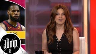 Rachel Nichols: LeBron James has made some memorable 0-2 comebacks | The Jump | ESPN - Video Youtube