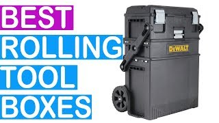 The Best Rolling Tool Boxes 2019 - Top 8 Rolling Tool Boxes