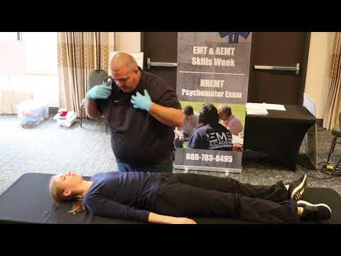 EMT & Fire Training Trauma Patient Assessment - YouTube