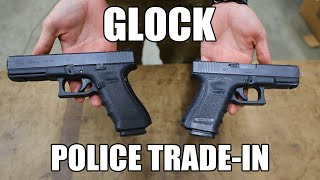 Glock 22 Gen 4 Law Enforcement Trade-in .40 S&W w/ Night Sights - NRA Surplus Good to Very Good Cosmetic Condition.