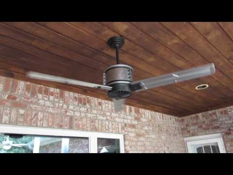 Duluth 60 in. Indoor/Outdoor Galvanized Steel Ceiling Fan