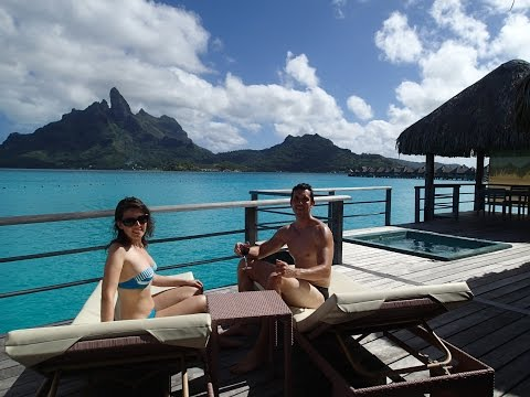 Room 103 Tour - Honeymoon At St Regis Bora Bora Premier Overwater Villa With Jacuzzi - May 2014 Mp3