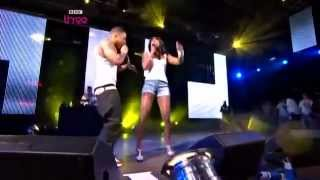 Nelly Ft. Kelly Rowland   Dilemma   Live