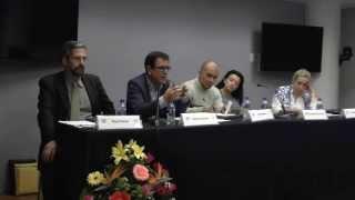 Mesa Redonda: Gomes, Guerrero, Parra, Giraldo, Weinberg