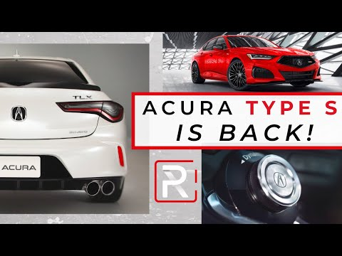 2021 Acura TLX Type S – Redline: First Look