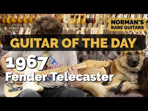 Guitar of the Day: 1967 Fender Telecaster   Norman's Rare Guitars