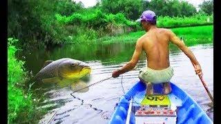 Ловля рыб электроудочкой