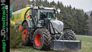 NEW Fendt 939 Vario S4 Black Beauty at Work !!!