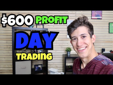 How To Make $600 Profit Day Trading | Investing 101