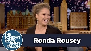 Ronda Rousey Addresses Her Floyd Mayweather Remarks - dooclip.me