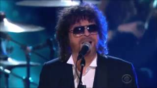 Jeff Lynne's ELO Performed Evil Woman & Mr  Blue Sky at 2015 Grammys Award ft  Ed Sheeran 1080p 30fp