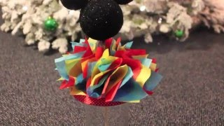 DIY Mickey Mouse Centerpiece