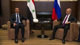Заявления поитогам российско-сирийских переговоров