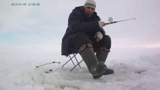 Удочка для зимней рыбалки на тюльку