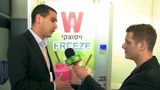 The quinzee at Israel's FoodIL FoodTech summit in Tel Aviv