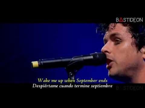 Green Day - Wake Me Up When September Ends (Sub Español + Lyrics)