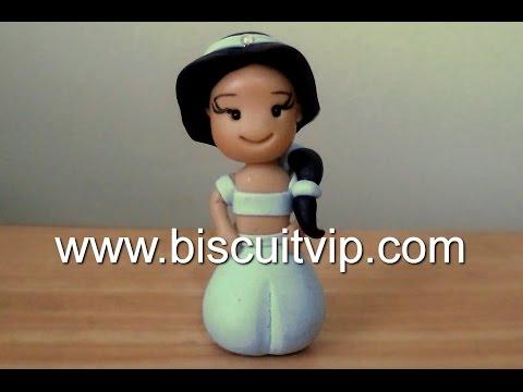 baby princesas disney jasmine canal aula de biscuit