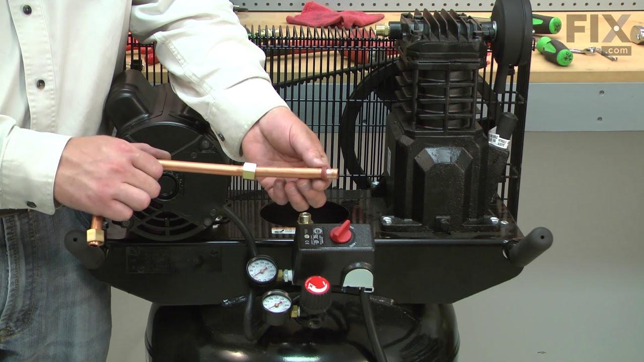 Replacing your Campbell Hausfeld Compressor Ferrule