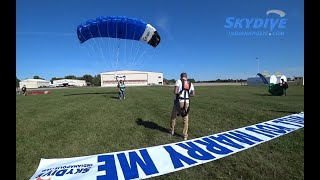 Stephen Fishers' Tandem Skydive Proposal at Skydive Indianapolis!
