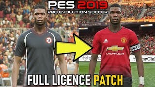 PES 2019: How to Install Official Team Names, Kits, Logos, Leagues & More