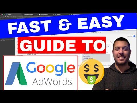 Adwords Training Google AdWords Tutorial For Beginners - YouTube