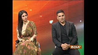 Akshay Kumar, Mouni Roy talk about their sizzling chemistry in film Gold