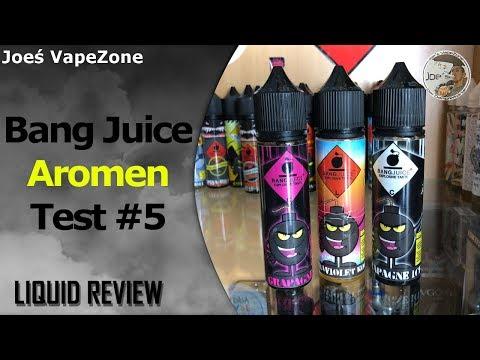 YouTube Video zu Bang Juice Grapagne Longfill Liquid 15 ml für 60 ml