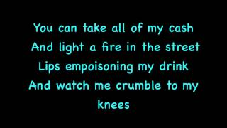 Jay Sean-Sucka For You On Screen Lyrics