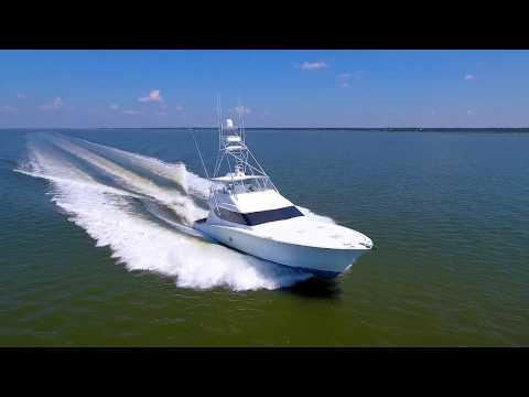 Hatteras Convertible video