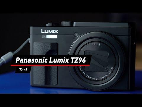 Mini-Kamera mit Maxi-Zoom: Panasonic TZ96 im Test