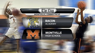 Full replay: Bacon Academy at Montville boys' basketball
