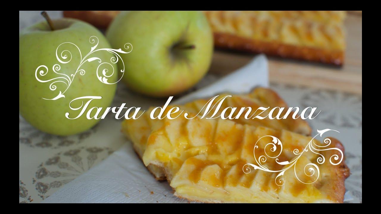 Tarta de Manzana Facil paso a paso   Recetas de Cocina por Chef de mi Casa.com