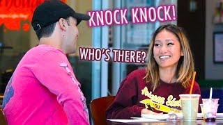 """Knock-Knock"" Pick up Lines!"