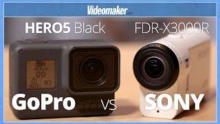 GoPro HERO5 Black vs Sony FDR-X3000R - Hands-On  & Heads-up!